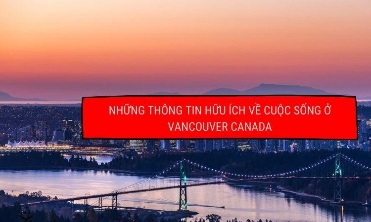 Cuộc sống tại thành phố Vancouver Canada